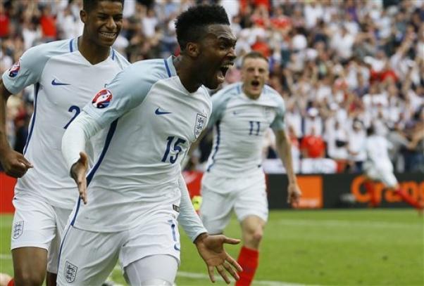 England beats Wales 2-1 at Euro 2016