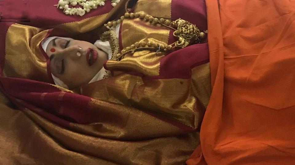 Sridevi cremated: Thousands gather to mourn Bollywood's 'first female superstar'