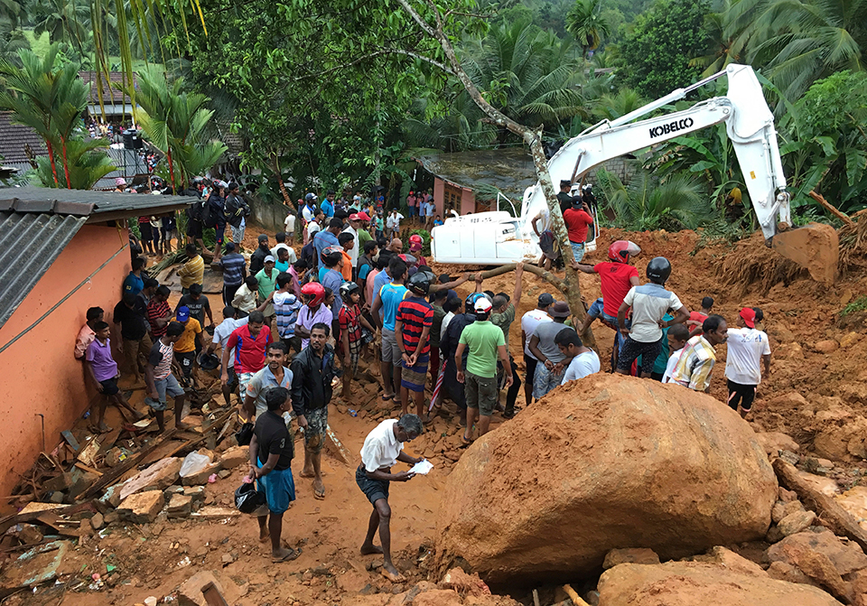 25 killed, 42 missing in Sri Lanka floods