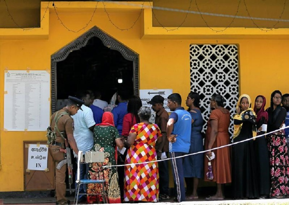Sri Lankans vote for a new president to heal divisions after Easter attack