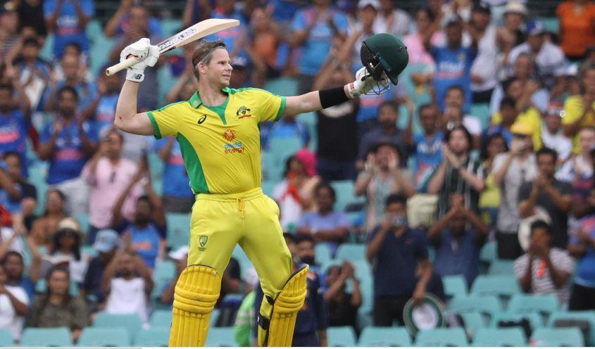 Smith hits second straight ton as Australia post 389-4 vs India