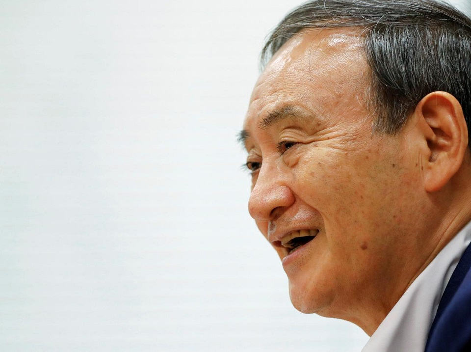 Japan's Suga expected to announce candidacy for PM race