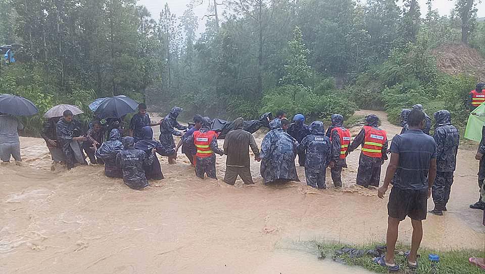 Managing monsoon floods amid COVID-19
