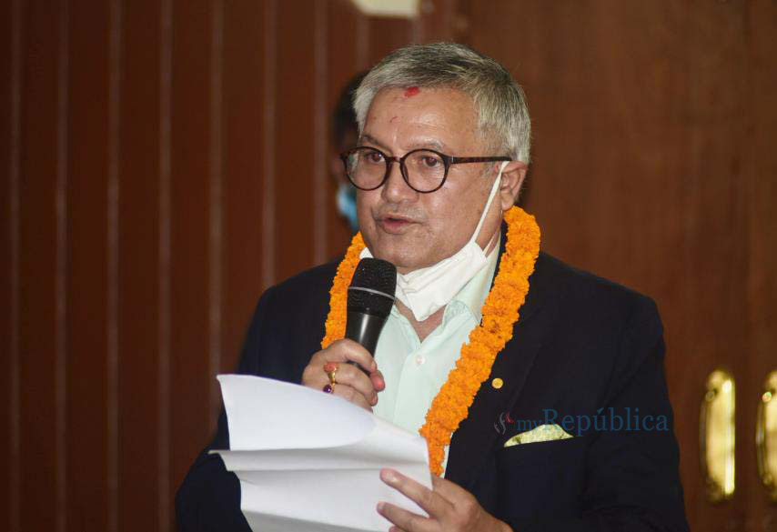 NC decides to appoint Sunil Bahadur Thapa as the party's Joint-General Secretary
