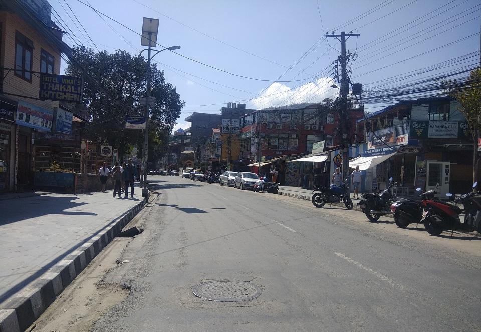 COVID-19 effect: No Holi fervor among Pokhara folks (with photos)