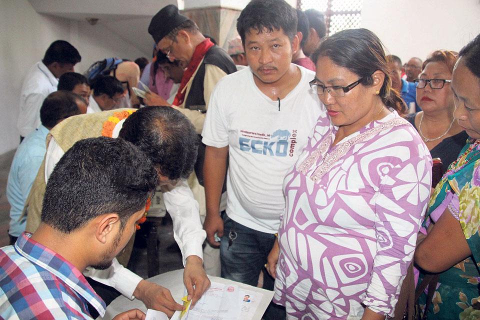 Men outnumber women candidates in Sunsari
