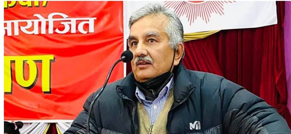 Speculation is rife that PM Oli will proclaim Nepal as a Hindu state on February 5: Dahal-Nepal faction leader Surendra Pandey