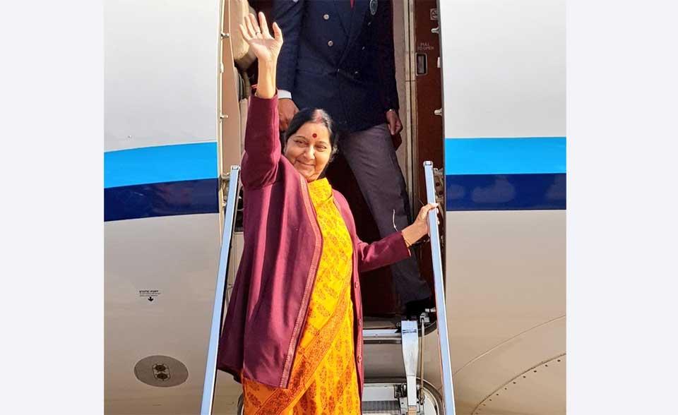 Prez, PM, leaders in Swaraj's meeting list today