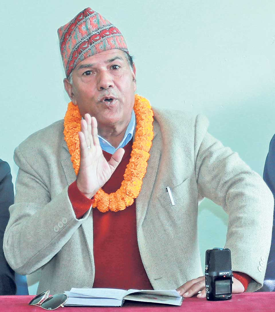 Thapa announces candidacy for ANFA president