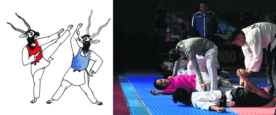Nepal hopes to win big in taekwondo
