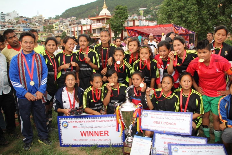 Taplejung clinches ANFA Women C'ship title