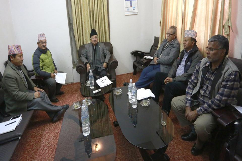 UML, Maoists seal deal on upper house seats