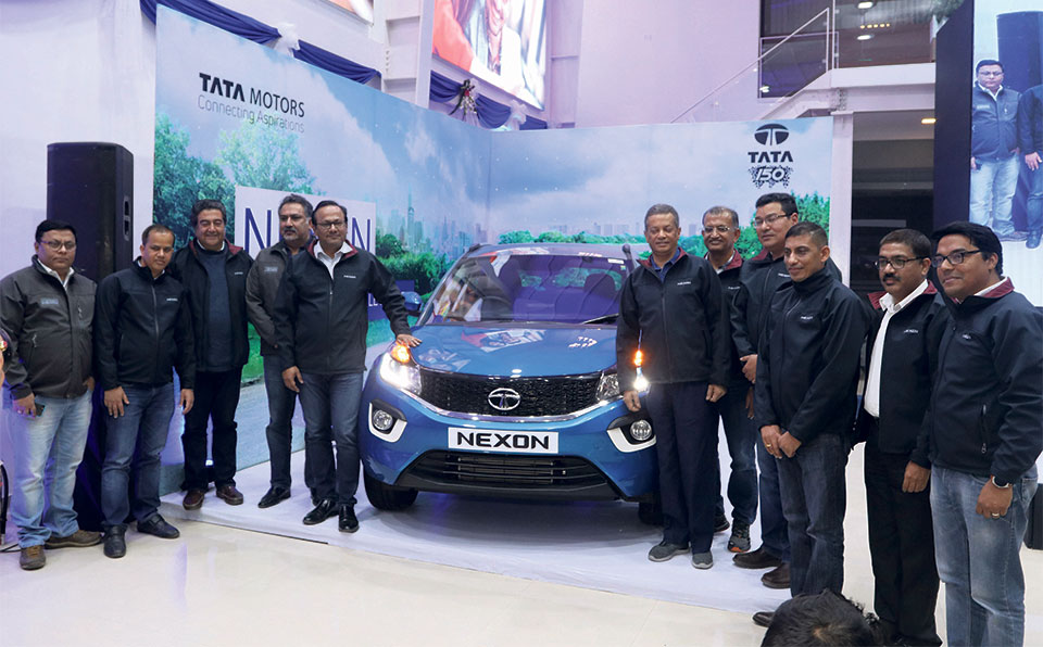 Tata Motors introduces Tata Nexon in Nepali market
