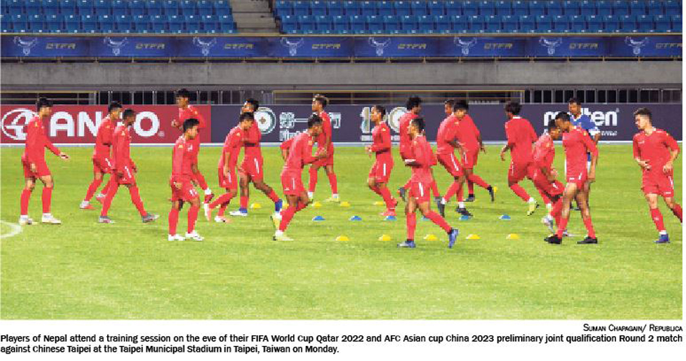 Can Nepal improve against Chinese Taipei after a defensive debacle?