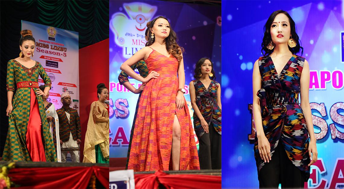 Fusion of 'dhaka wears'