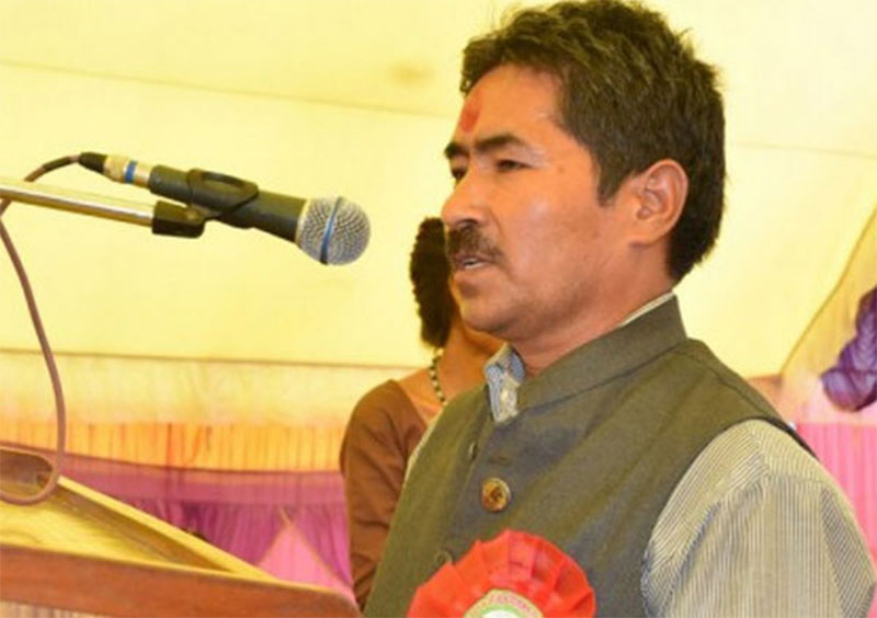 Basnet appointed Maoist Center's chief whip