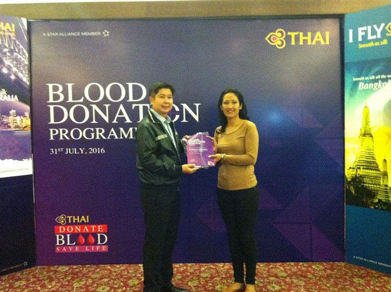 Thai Airways organizes blood donation program