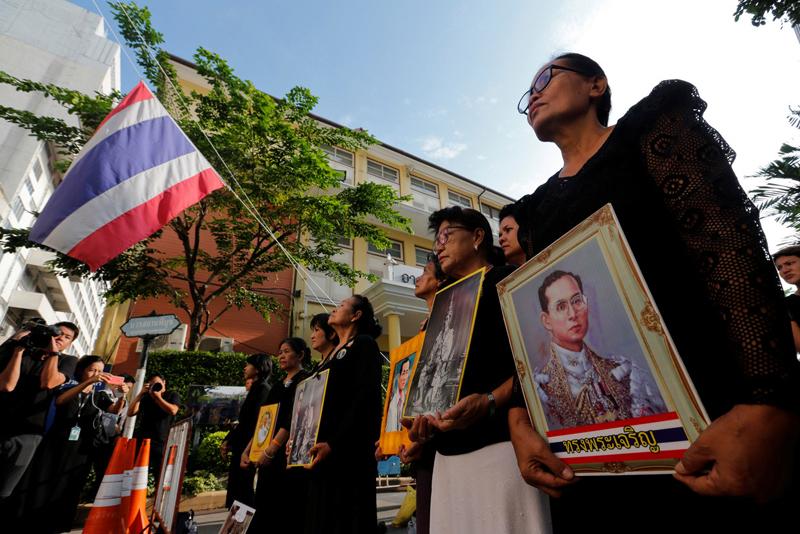 The Thai crisis