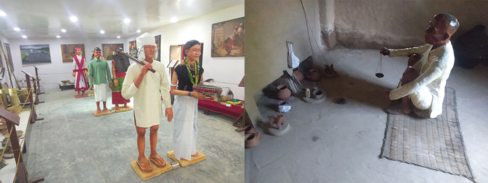Within a decade, first Tharu museum in ruins
