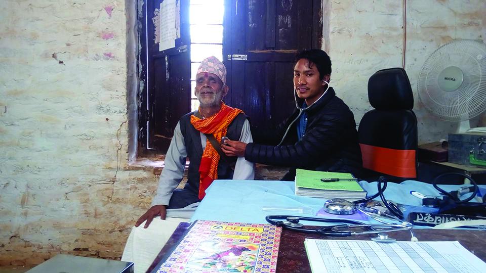 Single doctor running 50-bed Jajarkot District Hospital