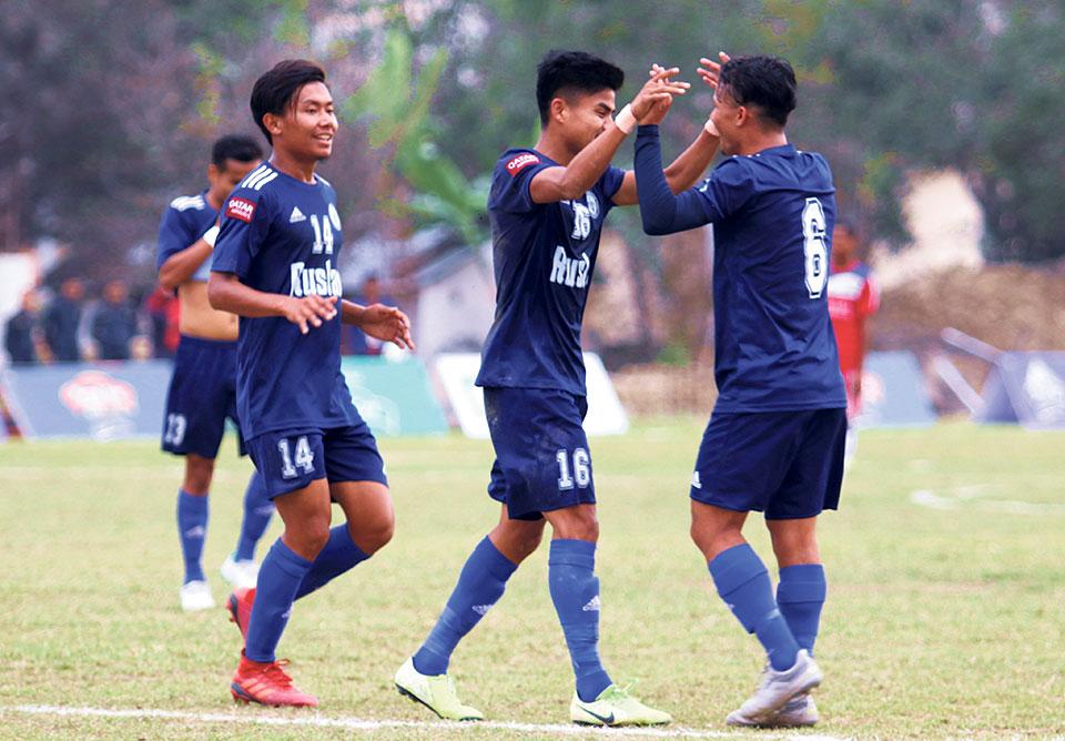Three Star into Khaptad Gold Cup semis