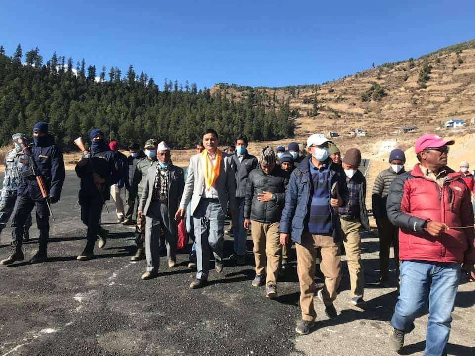 Minister Bhattarai pledges to make Simikot Airport a tourist gateway to Manasarovar