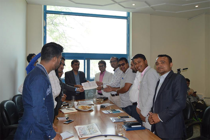 Ensure hassle-free info to journalists: FNJ to UAE Nepali Embassy
