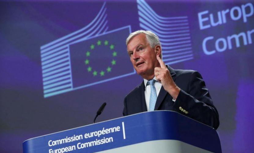 UK warns EU on Brexit: We won't blink first