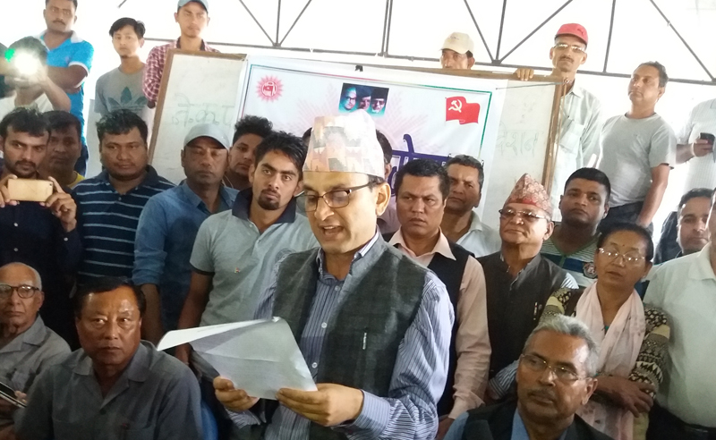 CPN -UML demands to resume vote counting immediately
