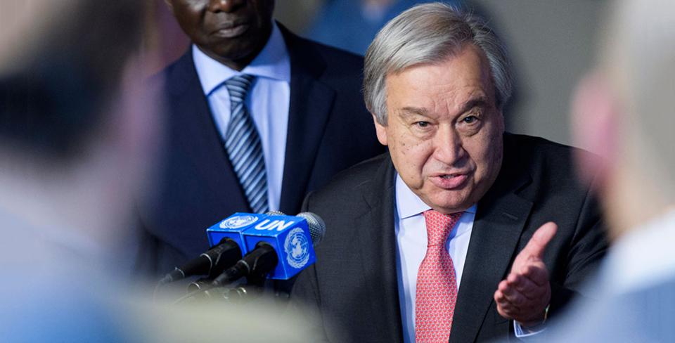 UN Secretary-General expresses sorrow over plight of flood victims