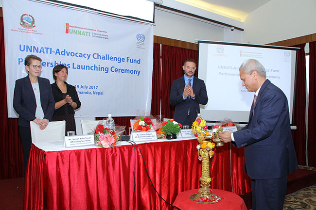 Advocacy challenge fund Launched