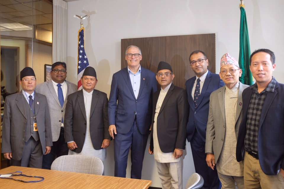 Sister city relations between Washington State and Gandaki Province proposed