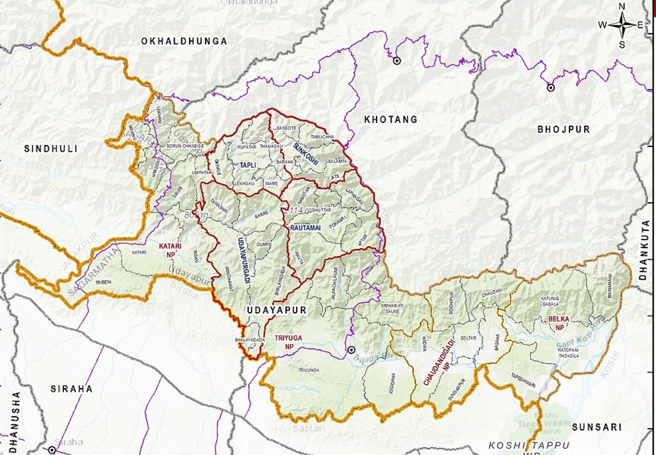 4 killed, 6 injured in Udayapur jeep accident