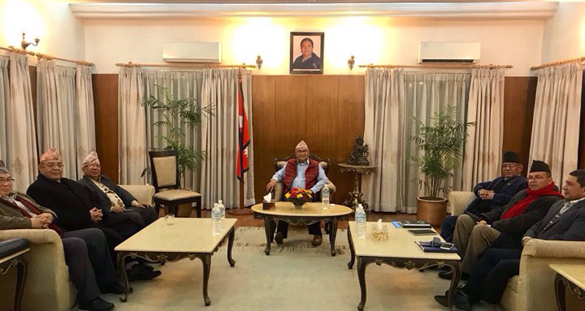 UML, MC likely to seal on unification deal, leaders' meeting underway