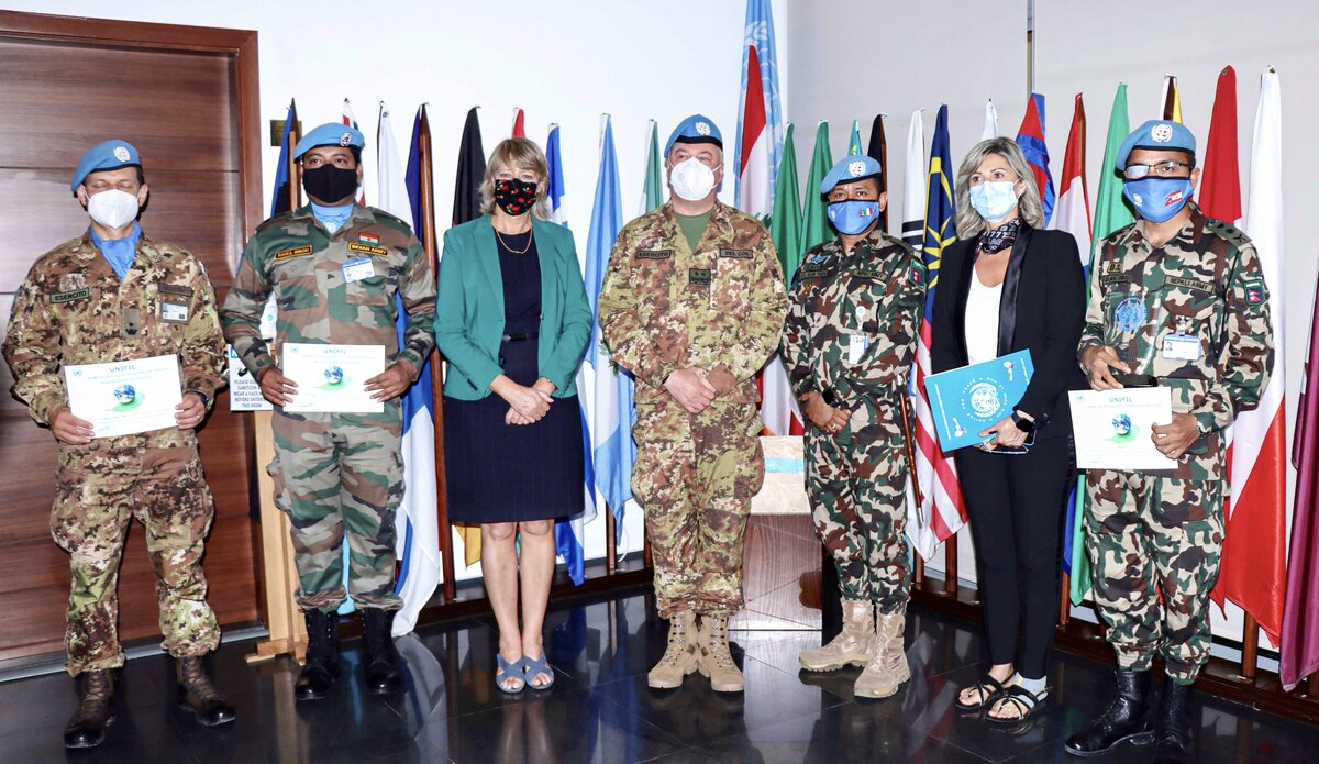 Nepal Army battalion bags UNIFIL Environmental Award
