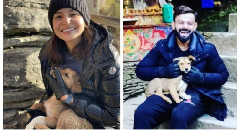 Anushka Sharma and Virat Kohli make a new friend in Bhutan; post pictures with him