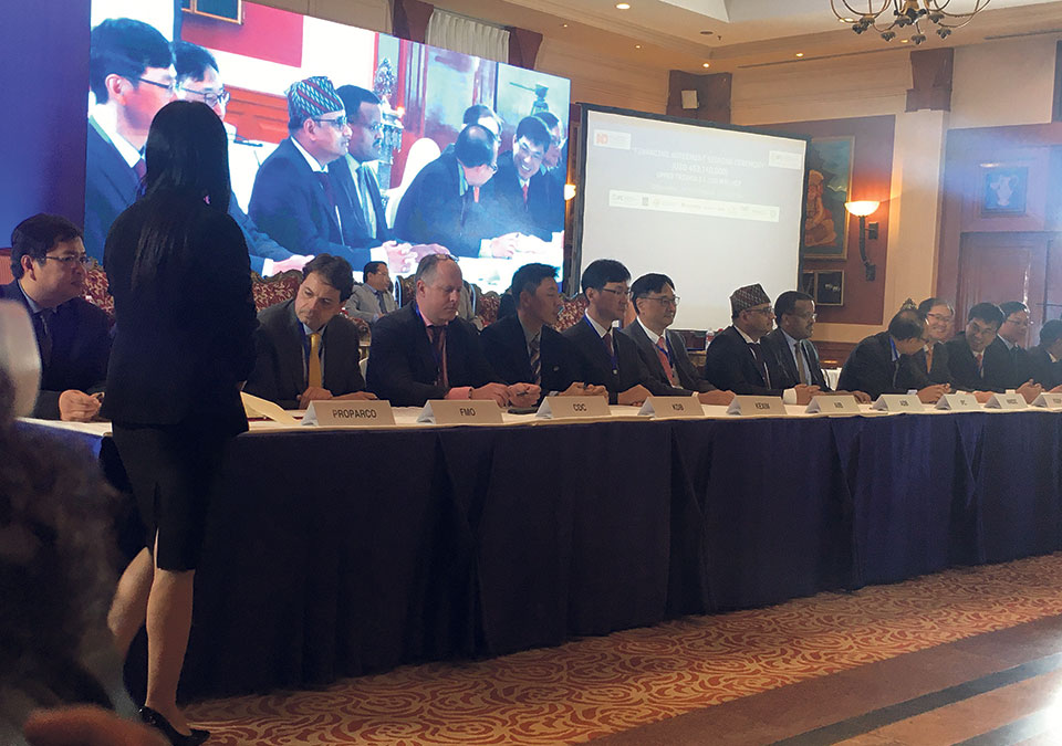 Financing agreement of $453.2 million for Upper Trishuli-1 signed