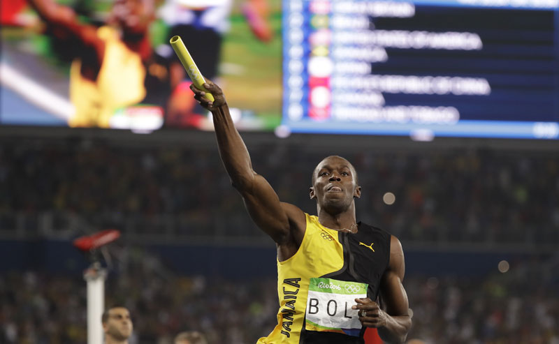 Interactive: A look at how Usain Bolt has performed in the Olympic Games