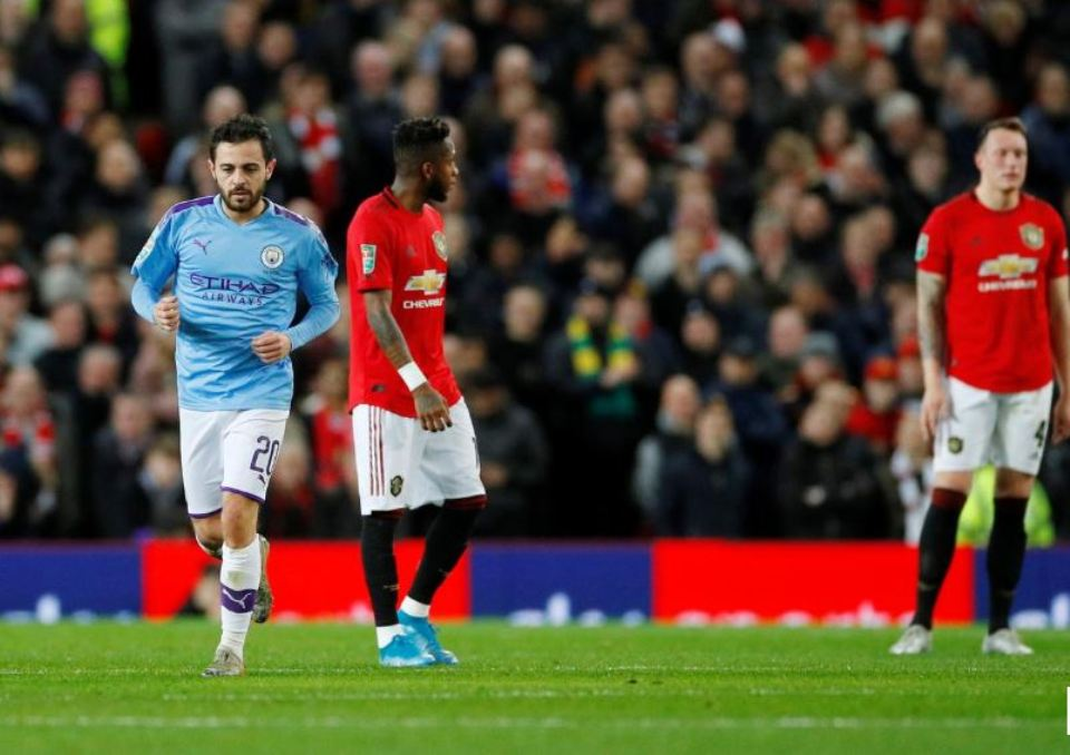 League Cup final in sight for Man City after 3-1 win at United