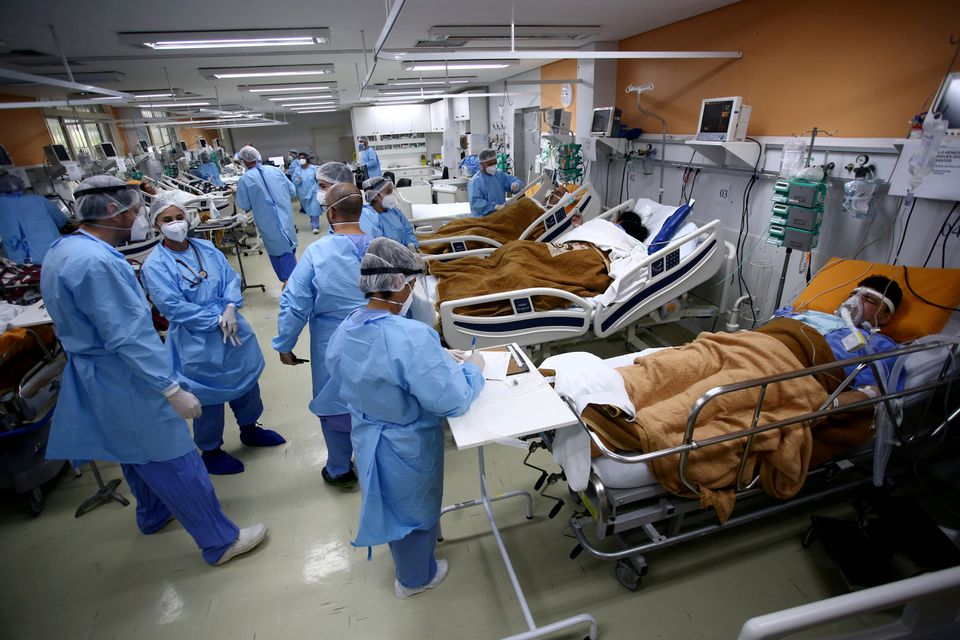 Brazil's hospitals running out of sedatives as COVID-19 rages
