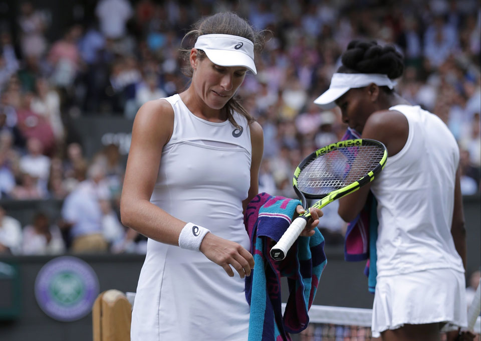 To play at Wimbledon, white underwear is a must