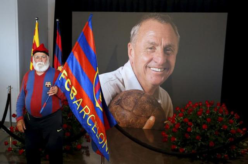 Barcelona to name one of its stadiums after Johan Cruyff