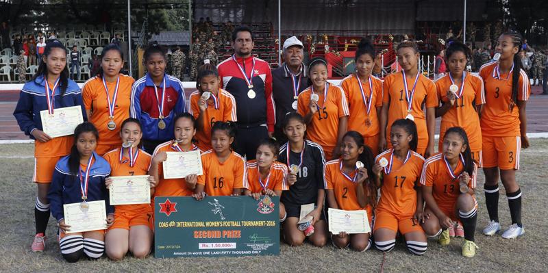 Team of teenagers brings shockwave in women's football