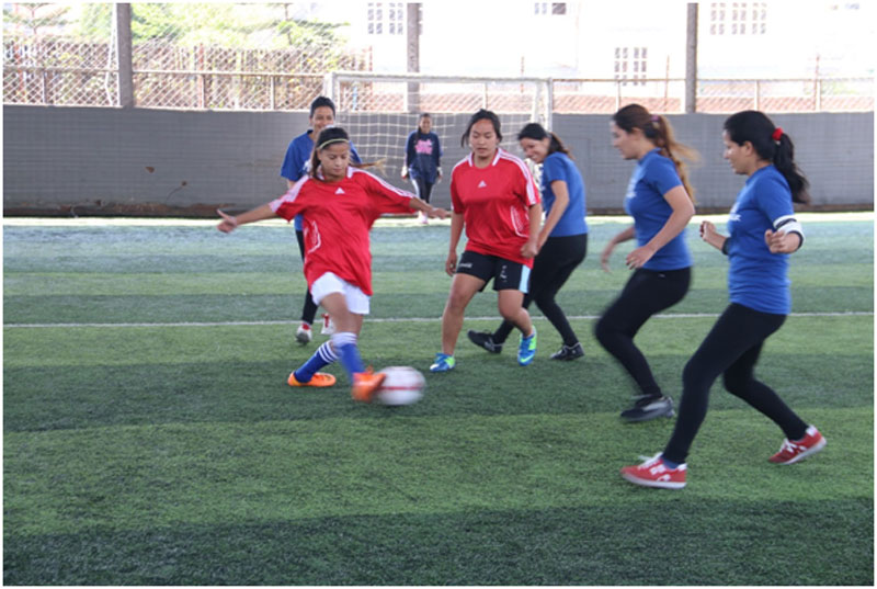 Futsal for the women, by the women and of the women!