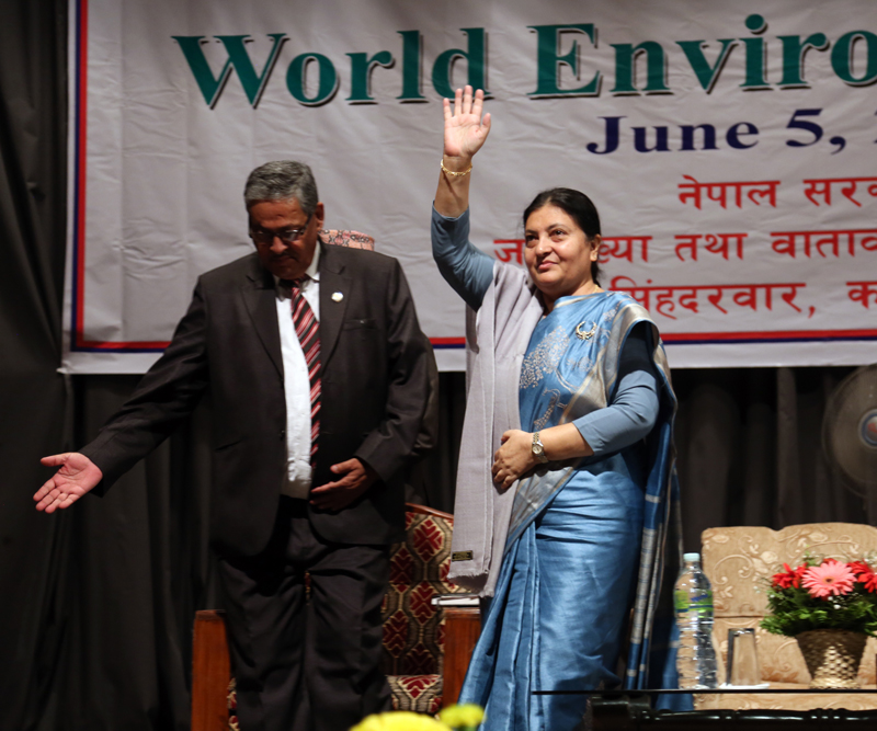 World Environment Day- President seeks combined efforts to conserve environment