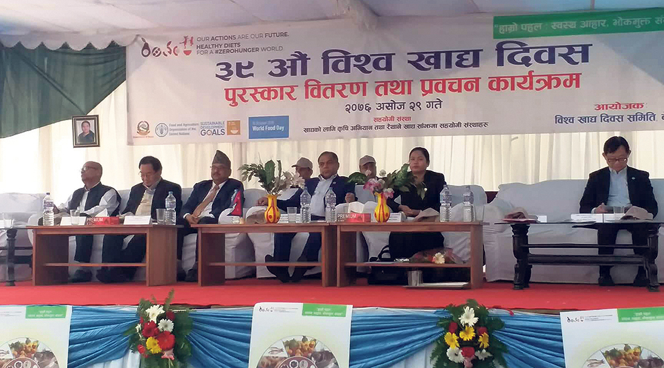 Food management, not famine, challenge for Nepal: Minister
