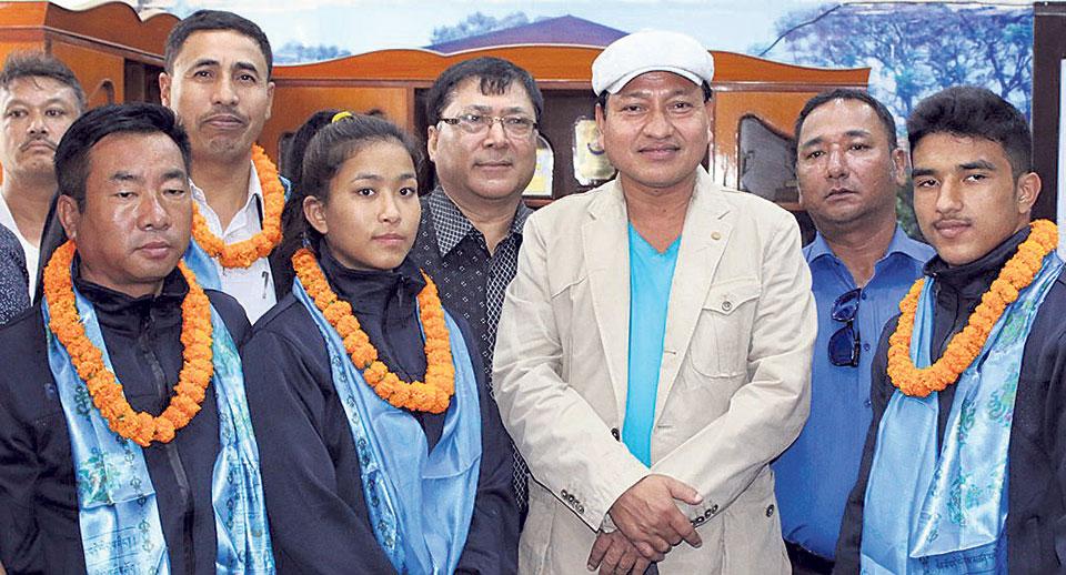 Nepal participating in World Junior Judo C'ship