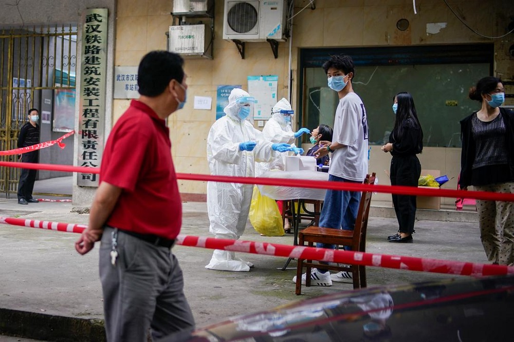 Fearing second wave, China's Wuhan ramps up coronavirus tests