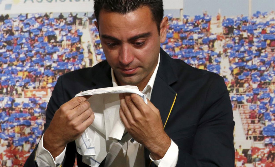 Xavi undecided on offer to coach Barca - club source