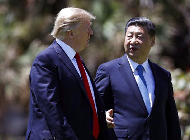 Xi stresses China's North Korea concerns in talk with Trump